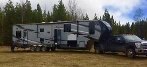 Elevation Fifth Wheel Toy Hauler For Sale