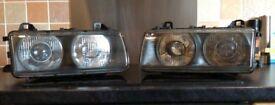 BMW e36 headlights & clear Indicators