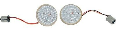 Custom Dynamics Front LED Turn Signal Inserts Amber/White For Harley Davidson