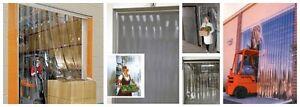 ★PORTES & RIDEAUX COUPE-FROID EN LANIÈRES DE VINYLE TRANSPARENT★ West Island Greater Montréal image 5