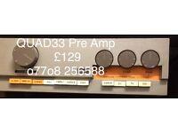 QUAD 33 Pre Anplifier