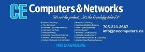 CE Computers and Networks - FREE DIAGNOSING