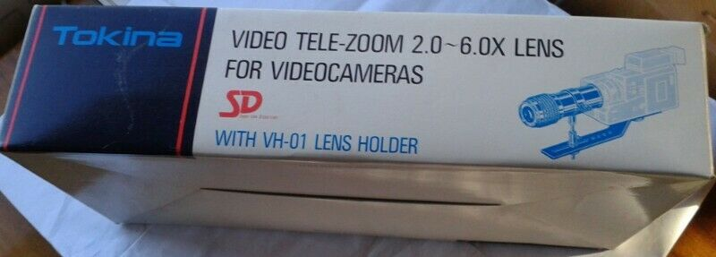 Tokina video tele zoom 2-6x