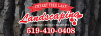 Cherry Tree Lane Landscaping is booking now!