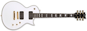 LTD DELUXE 1000 ELECTRIC GUITAR WITH CASE $500