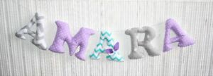Handmade nursery decorations