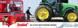 DYNABLAST Hot & Cold Water Pressure Washer .. Blow Out !!!
