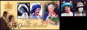 BIOT-B-I-O-T-223-224-225-NH-SG-240-241-MS242-QUEEN-MOTHER-100th-BIRTDAY