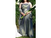 Linzi Jay Eclipse Prom or Bridesmaid Dress. Size 16/18. Sage Green