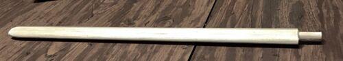 "Native American White Pine Pipe Stems 19"" with 1/2"" X 1"" Nipple by Gregg V Rasor"