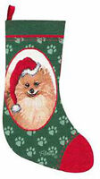 Lab, Maltese, Pom, Poodle, Pug Tapestry Christmas Stockings