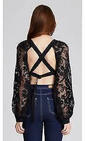 Alice McCall - Midnight Sorrento Top, size 6. New with tags.