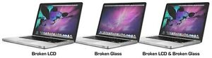 MACBOOO PRO RETINA SCREEN, BATTERY, KEYBOARD REPLACEMENTS