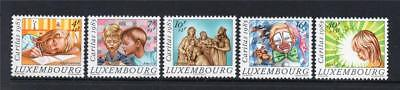 LUXEMBOURG MNH 1985 SG1168-1172 NATIONAL WELFARE FUND