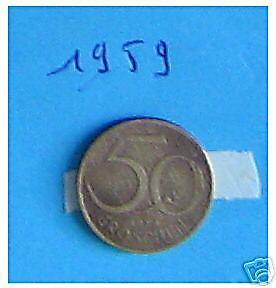 1  x 50 Groschen  1971 Autriche