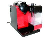 Nespresso by De'Longhi EN521.R Lattissima+ Coffee Machine - Red - Price reduced