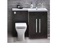 Basin & WC Vanity Run inc Tap & WC for £449
