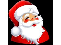 Looking for a Santa Hire for Santa's Grotto .