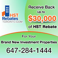 Get Back up to $30,000 for Your Brand New Rental Property