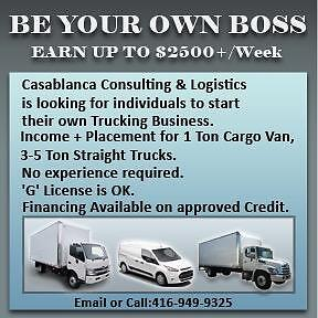 Be Your Own Boss Earn Up To $2500+/Week