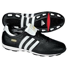 Adidas Men's Black 7406 size US10.5 UK10.0 FR44 Sneakers Sports Track Soccer Football Shoes