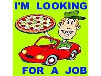 I'm looking for a job in London. I could work as a driver (for example - delivery car driver). I h