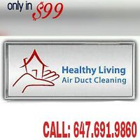 DUCT CLEANING+UNLIMITED VENTS+ FURNACE+ SANITIZATION IN JUST $99