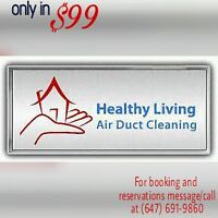 SPECIAL OFFER!! air duct cleaning in just $99