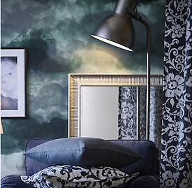 Dark grey Standard lamp