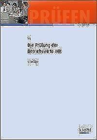 Die Prüfung der Betriebswirte IHK von Wolfgang Vry (2015, Gebundene Ausgabe)