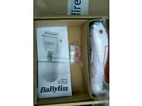 Babyliss ladies wet and dry lady shaver