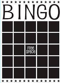Darice A2 Embossing Folder - Bingo - $8