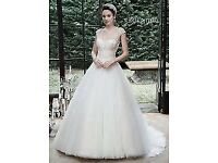 Maggie Sottero Maloree Wedding dress for SALE Size 12/14
