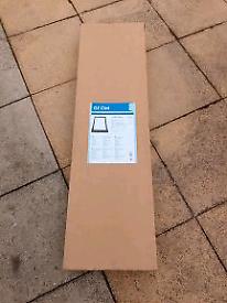 Geom roof window flashing kit