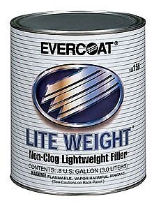 Evercoat 156 Lite Weight Non-Clog Lightweight Auto Body Filler Gallon