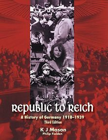 Republic to Reich; A History of Germany******1939 3rd Edition Bondi Beach Eastern Suburbs Preview