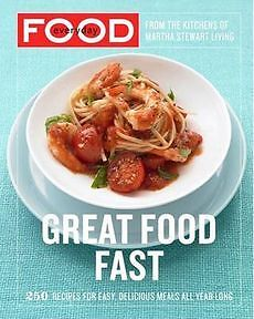 NEW Everyday Food: Great Food Fast by Martha Stewart Living Magazine Paperback B
