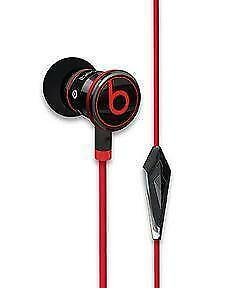iBeats Headphones with ControlTalk From Monster® - In-Ear Noise Isolation - Black - BRAND NEW SEALED