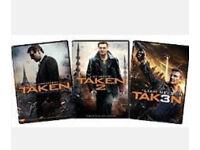 Taken 1-3 dvds