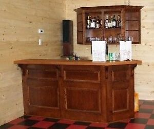 Entertainment Bar and Shelving Unit
