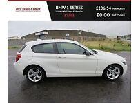 BMW 1 SERIES 2.0 116D SPORT,2014,Alloys,Bluetooth,Air Con65mpg,£20 Road Tax,Very Clean
