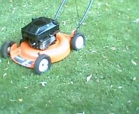 "Husqvarna 6.0hp 21"" lawnmower"