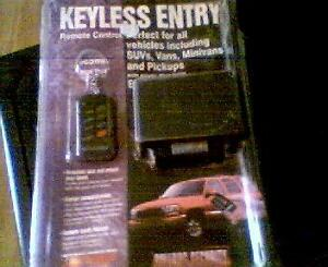 keyless entry for vehicle