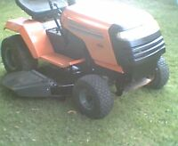"Husqvarna LT 120 12hp 5 speed 38"" deck riding mower"