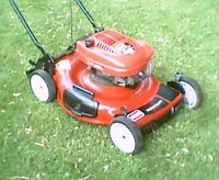 "Toro 6.5hp 22"" lawnmower"