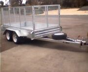 ALL NEW HOT DIPPED GALVANISED TANDEM TRAILER FULLY WELDED 8X5 Port Fairy Moyne Area Preview