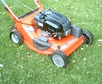 "Scott's 6.5hp OHV self propelled 21"" lawnmower"