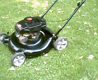 "YardMachines 3.5hp 21"" lawnmower"