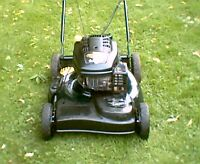 "Yardworks 6.25hp self propelled 21"" lawnmower"