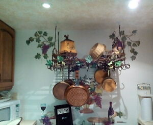 Decor hanging Pot Rack West Island Greater Montréal image 2